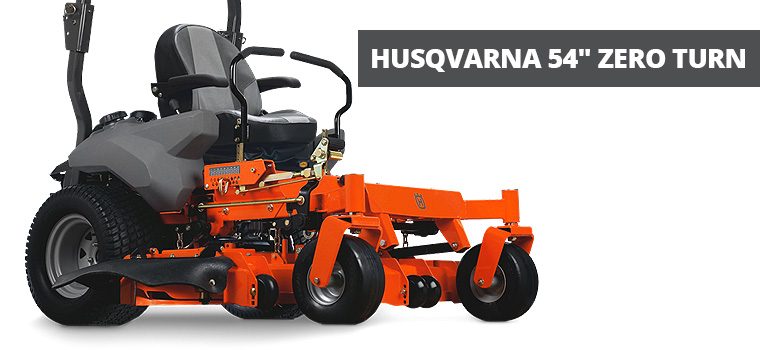 Husqvarna 54 Zero Turn Ride-on